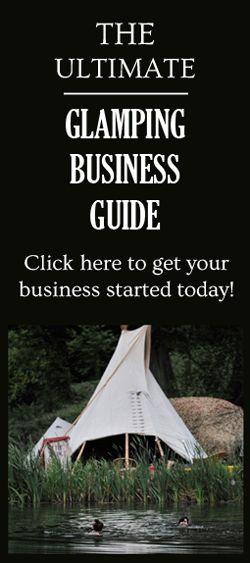 What is Glamping and what's all the fuss about?  Also, how the economic crisis has affected it... and surprisingly not in the way you might think! #glamping #business