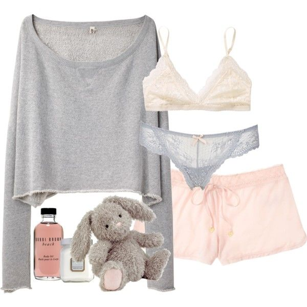 """""""Cozy Girl Night"""" by elise-olivia on Polyvore"""