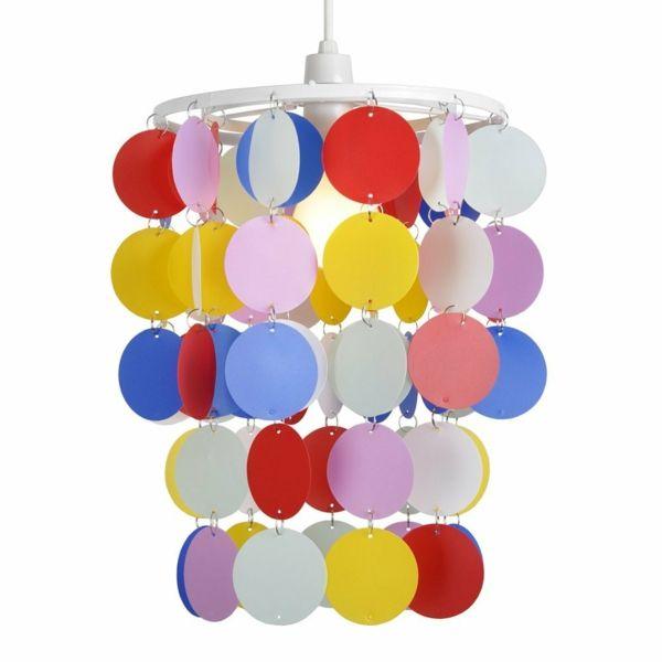 kinderzimmer beleuchten lampe farbiger leuchter