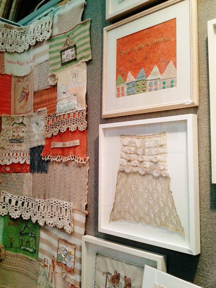 Laura Rose Textiles @ Contemporary Textiles Fair, 2012