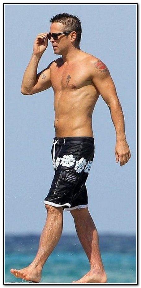 Colin Farrell on the beach | Celebrity crush | Colin ...