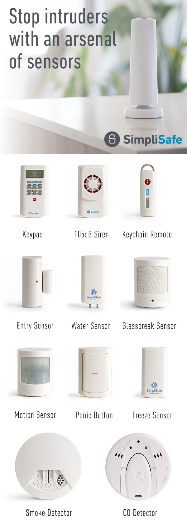 When you choose SimpliSafe, you get customized, professionally-monitored home security shipped straight to your door. Just $15/mo, with no long-term contracts. It's security that fits your life, your needs, and your style. Call or click to find out more.