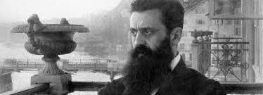 Théodore Herzl le père du sionisme Voici comment le Dictionnaire Encyclopédie du Judaïsme explique ce terme «… ce mot exprime le désir des juifs en exil de retourner sur la terre d'Israël (Sion, synonyme de Jérusalem, qui s'applique à tout le pays, d'où le terme moderne de sionisme).