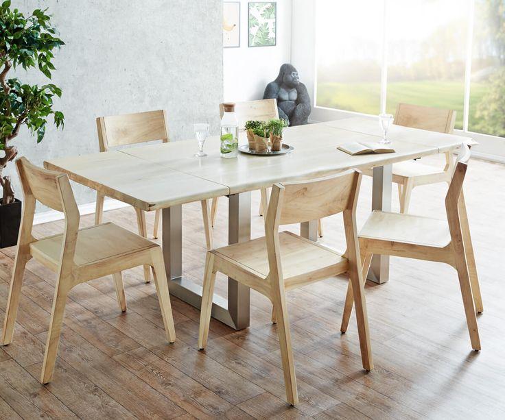 Die besten 25 esstisch baumkante ideen auf pinterest esstisch aus massivholz esstisch - Baumtisch esszimmer ...