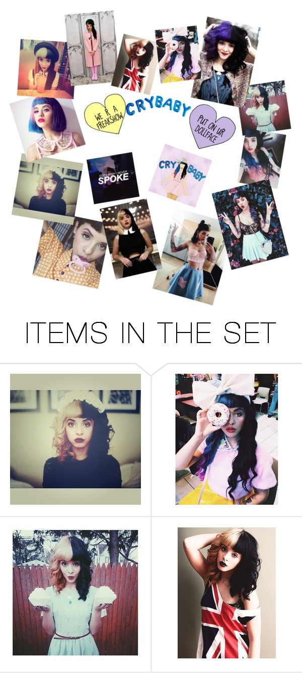 """""""Melanie Martinez! I want tickets to her concert so bad!"""" by princessboogs ❤ liked on Polyvore featuring art"""