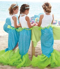 magical mermaid tail for mermaid birthday party.