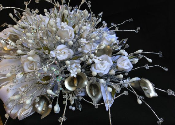 Ramo para Novia en Rosas de migajon/wedding by WEDDINGLASSOS