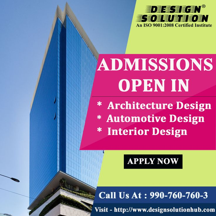 Design Solution !!Alert Time!! Admissions Open in 6 Months Diploma Courses in Architecture Design |Automotive Design | Interior Design Hurry Up!!  Call Us at to Reserve your Seat : 990-760-760-3 For More Details Visit - http://www.designsolutionhub.com