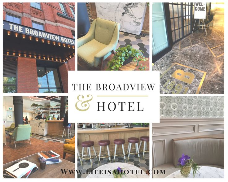 Toronto's new gem - The Broadview Hotel located in the downtown. This recently opened hotel looks very luxurious and is well designed