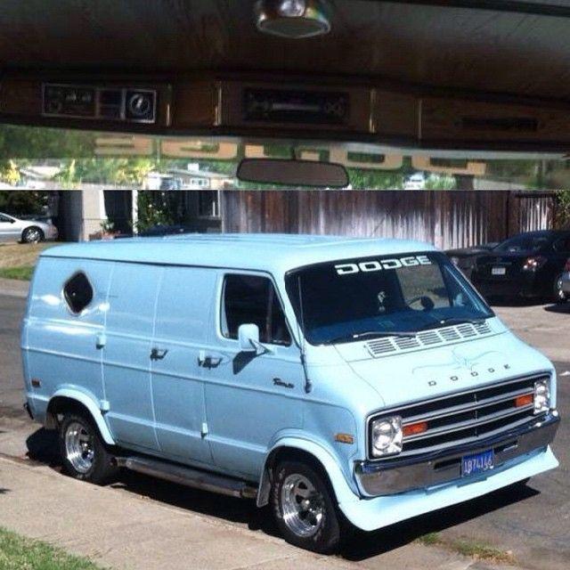 Good Looking 76 Dodge Van