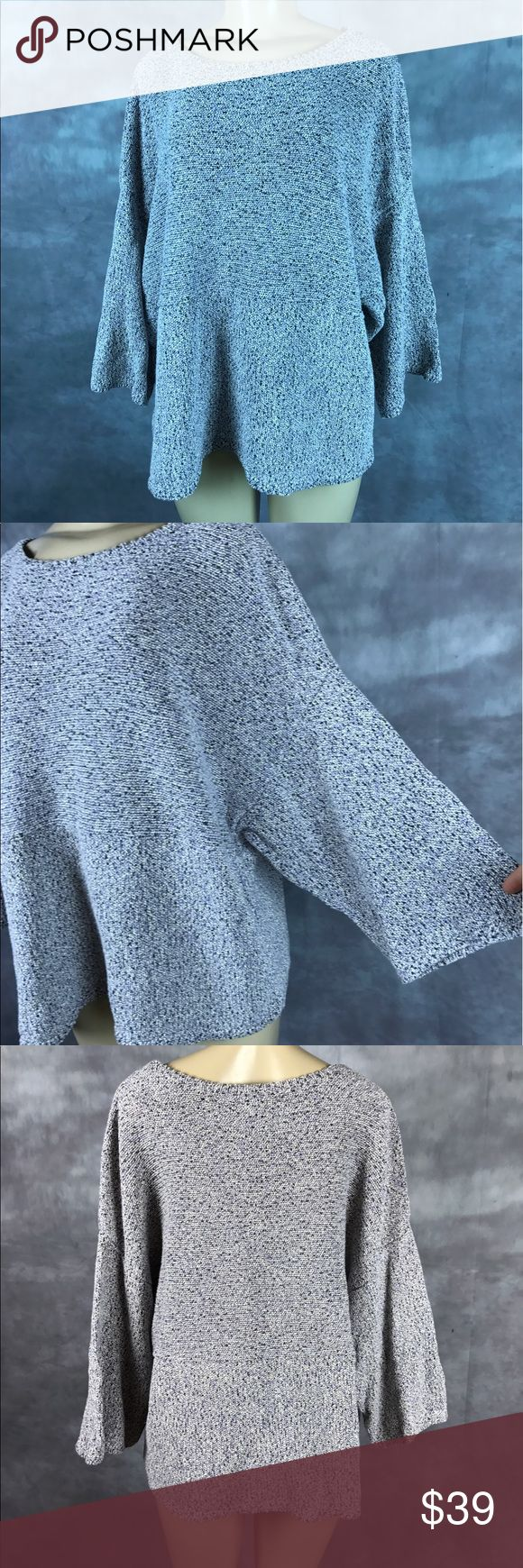 Pure j. Jill kimono sweater legenlook loose Great used condition pure j. jill Sweaters Crew & Scoop Necks