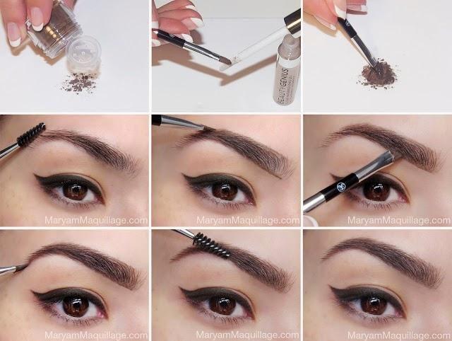 Cómo tener unas cejas perfectas paso a paso