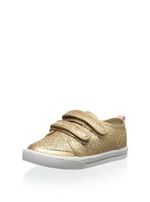 65% OFF Carter's Kid's Misty Sneaker (Gold)