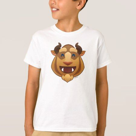 Beauty and the Beast Emoji | Beast T-Shirt - tap, personalize, buy right now!