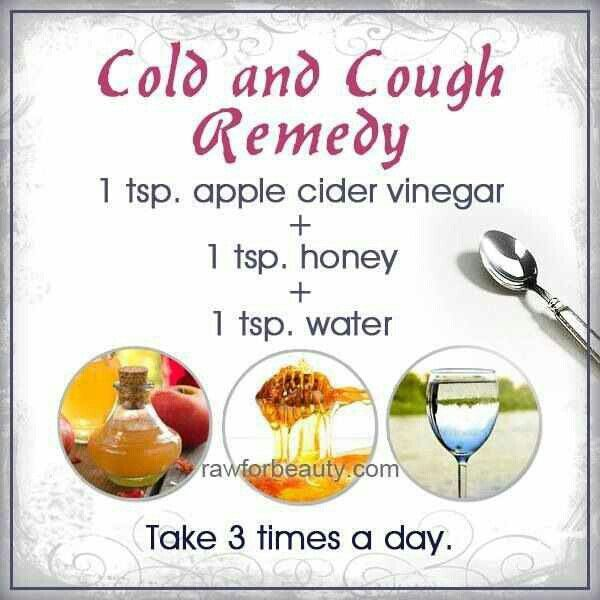 Natural Cough Remedy Apple Cider Vinegar