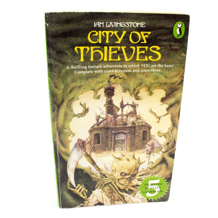 City of Thieves Puffin Fighting Fantasy Book #5, Ian Livingstone