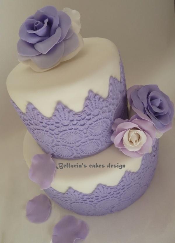Images Of Purple Birthday Cake : Purple birthday cake Birthday Pinterest