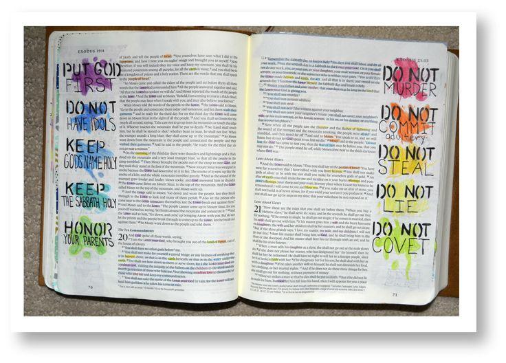 Exodus 20 The Ten Commandments