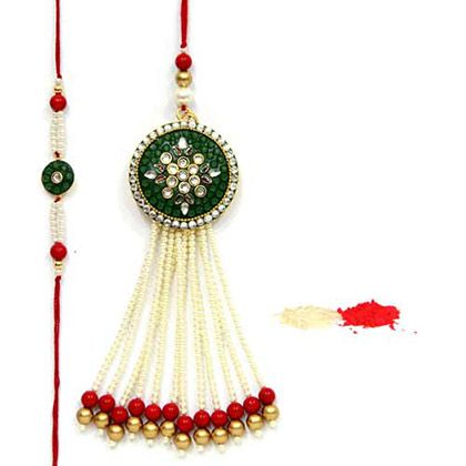 Specially crafted deign rakhi