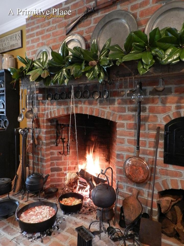 Fireplace Design fireplace cooking : 148 best Fireplaces and Woodstoves images on Pinterest