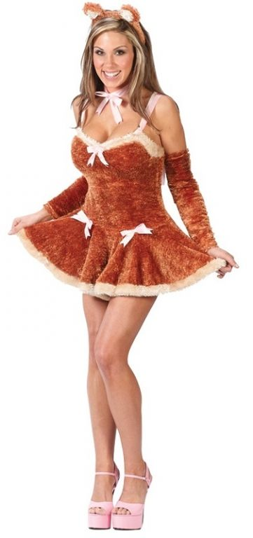 Teddy Bear Costume - Adult Costumes