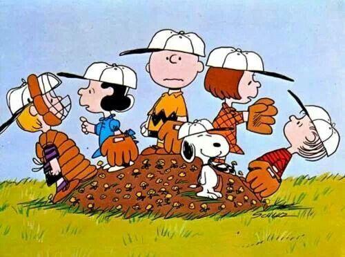野球もするシュローダー壁紙