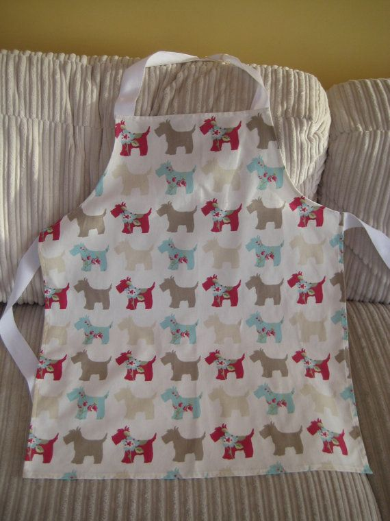 Adult apron handmade full length adult apron by SunnyBunnyCraft, £10.00