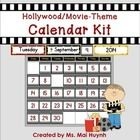 Do you have a movie or Hollywood theme in your classroom? Decorate your movie-themed classroom with this Movie-Themed Calendar Kit! This kit has TW...
