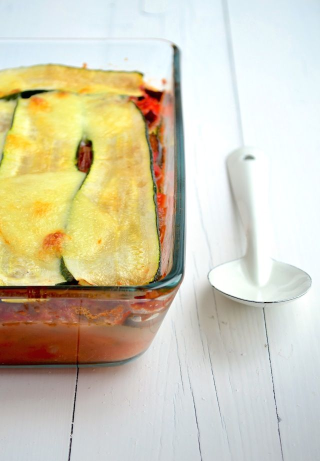 courgette lasagne #skinny zucchini lasagna #healthyfood #glutenfree