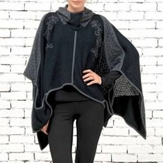 ANGELS NEVER DIE PONCHO 1148 FW2014-15 Angels Never Die Mantels en Jassen | Fashionboutique Femelle