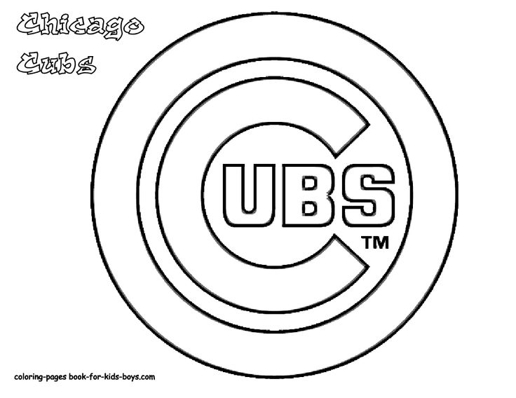 Free Coloring Pages Baseball Major League Slide Crayon On Sports New York Mets Braves Cubs Padres
