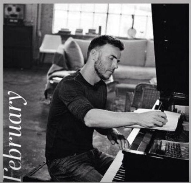 February - Gary Barlow Calendar 2014