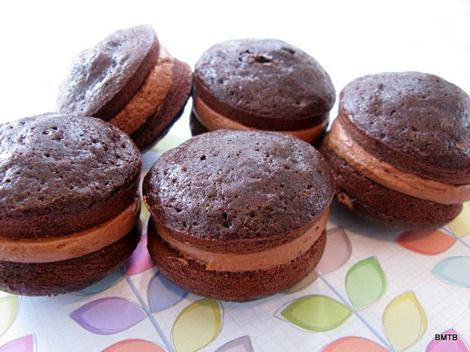 Double Chocolate Whoopie Pies | Indulge | Pinterest