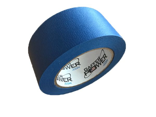 Gaffer Power Blue Painter's Tape, 2 Inches x 50 Yards Masking Tape Blue