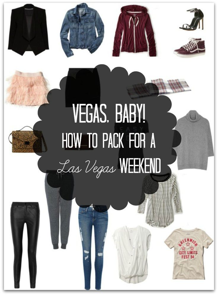 what to pack for a weekend in vegas header