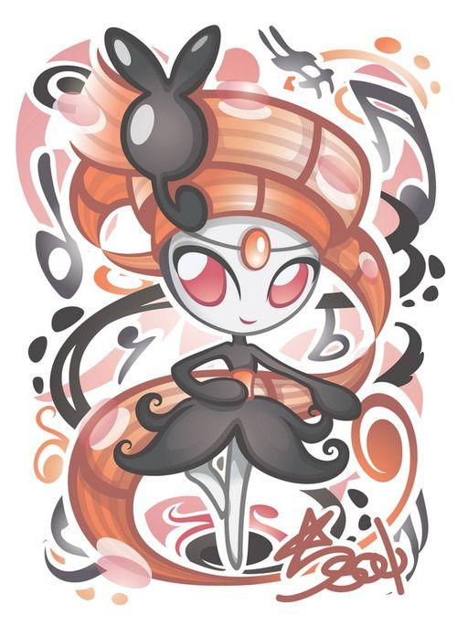 #Meloetta - Grass Type #Pokemon