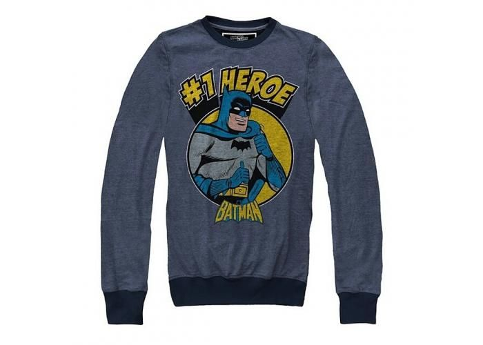 #1 Hero - Batman - Pullover Hombre -  #Batman #TheDarkKnight #DC #MascaraDeLatex