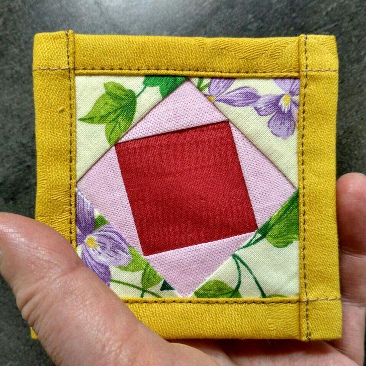 Mini quilt paper piecing