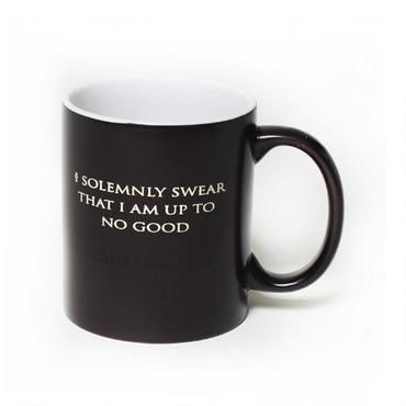 """The world of Harry Potter comes alive with this """"I Solemnly Swear...Mischief Managed"""" heat changing  mug"""