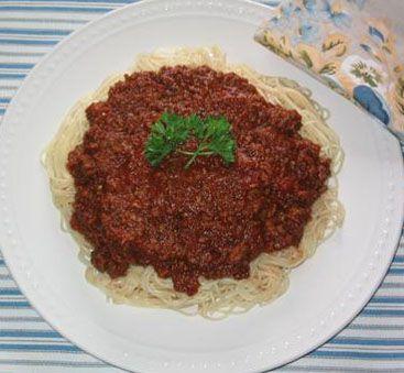 Recette de sauce à spaghetti italien