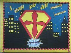 classroom superhero christian - Google Search