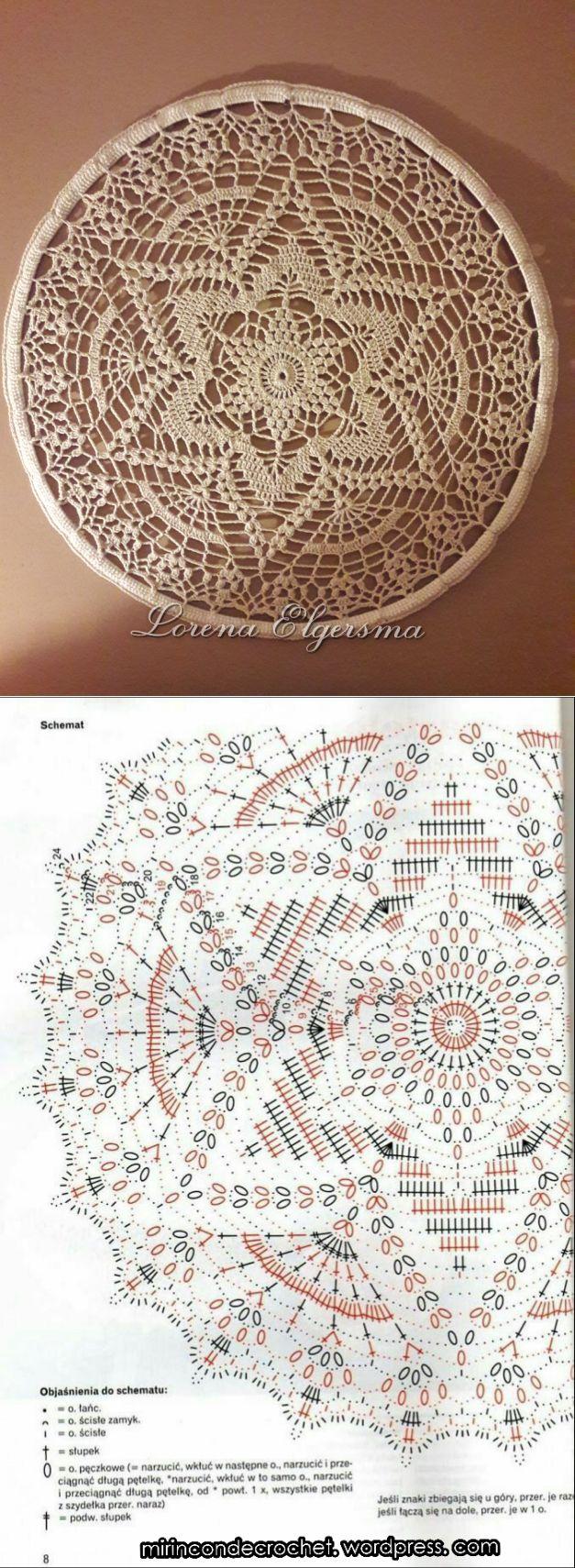 453 best crochet images on Pinterest | Crochet patterns, Doilies ...