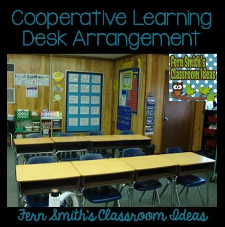 Tuesday Teacher Tips: Desk Arrangements for Two, Four and Eight Student Cooperative Learning