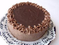 Citromhab: Csokitorta