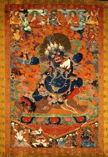 Yama Dharmaraja (Buddhist Protector) - Inner (HimalayanArt)
