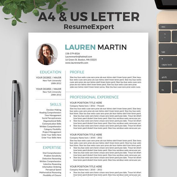 10 best Fashion Forward Resume Template images on Pinterest - career resume template