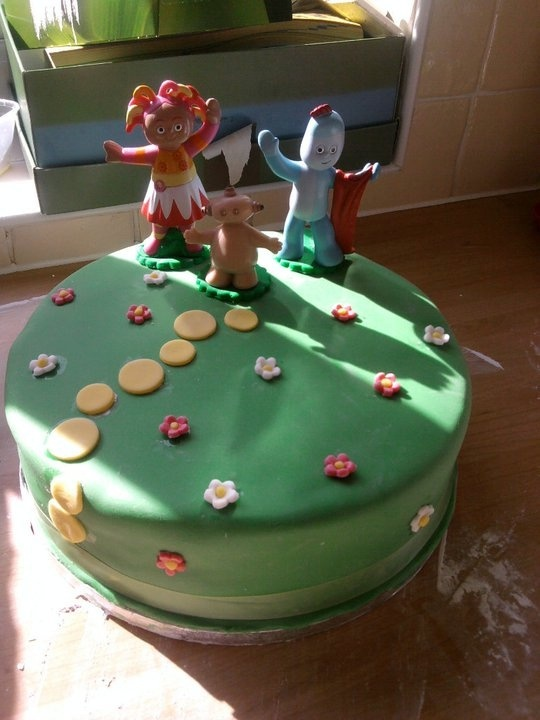 My nephew's In The Night Garden cake for his 2nd birthday