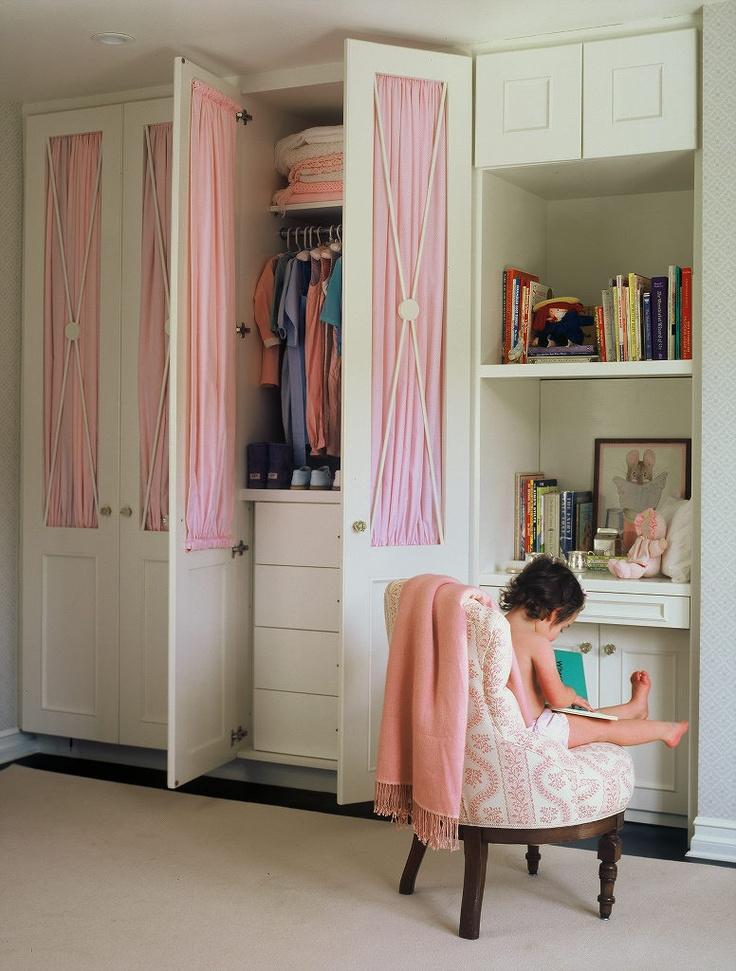 Kids Desk In Closet