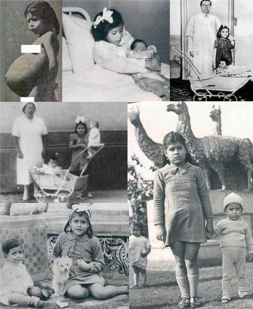 Lina Medina (born September 27, 1933) is a Peruvian woman who is the youngest confirmed mother in medical history, giving birth at the age of five.    That is crazy!!!