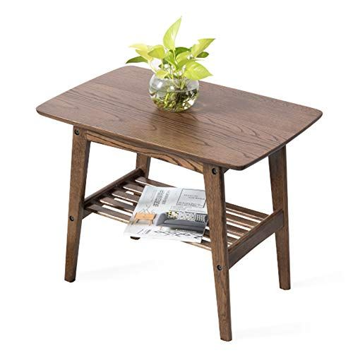 Zhirong Solid Wood End Table Side Table Coffee Side End Snack